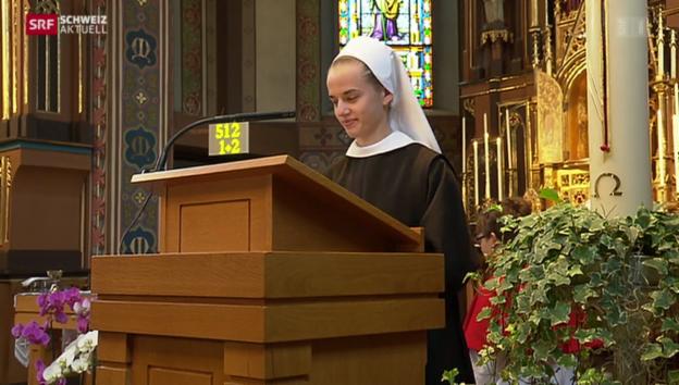 Video «Nach der Matura ins Kloster» abspielen