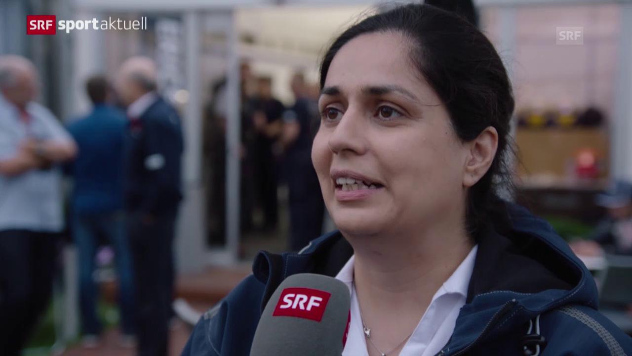 Formel 1: Sauber-Krise, Interview mit Teamchefin Monisha Kaltenborn
