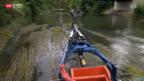 Video «Rasenmähen im Fluss» abspielen