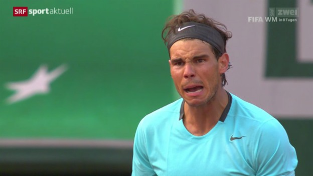 Video «Tennis: French Open, Nadal - Ferrer» abspielen