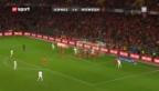 Video «Schweiz - Norwegen: Zusammenfassung» abspielen