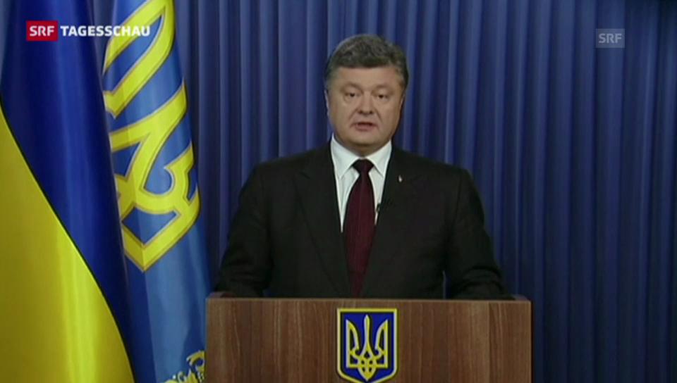 Die Ukraine hat gewählt