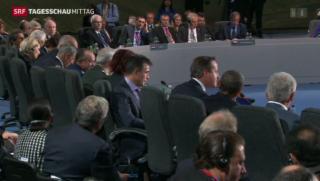 Video «Ukraine bleibt Hauptthema des Nato-Gipfels » abspielen