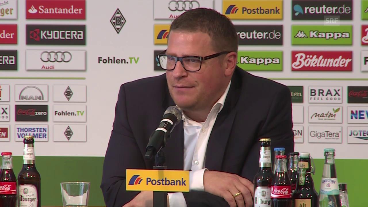 Fussball: Bundesliga, Mönchengladbach-Sportchef Mex Eberl zum Rücktritt von Lucien Favre