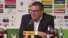 Video «Fussball: Bundesliga, Mönchengladbach-Sportchef Mex Eberl zum Rücktritt von Lucien Favre» abspielen