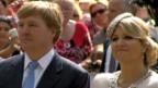 Video «Eitel Sonnenschein bei den niederländischen Royals» abspielen