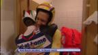 Video «2009: Ammann beglückwünscht Küttel als sein Nachfolger» abspielen