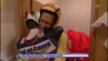 Link öffnet eine Lightbox. Video 2009: Ammann beglückwünscht Küttel als sein Nachfolger abspielen