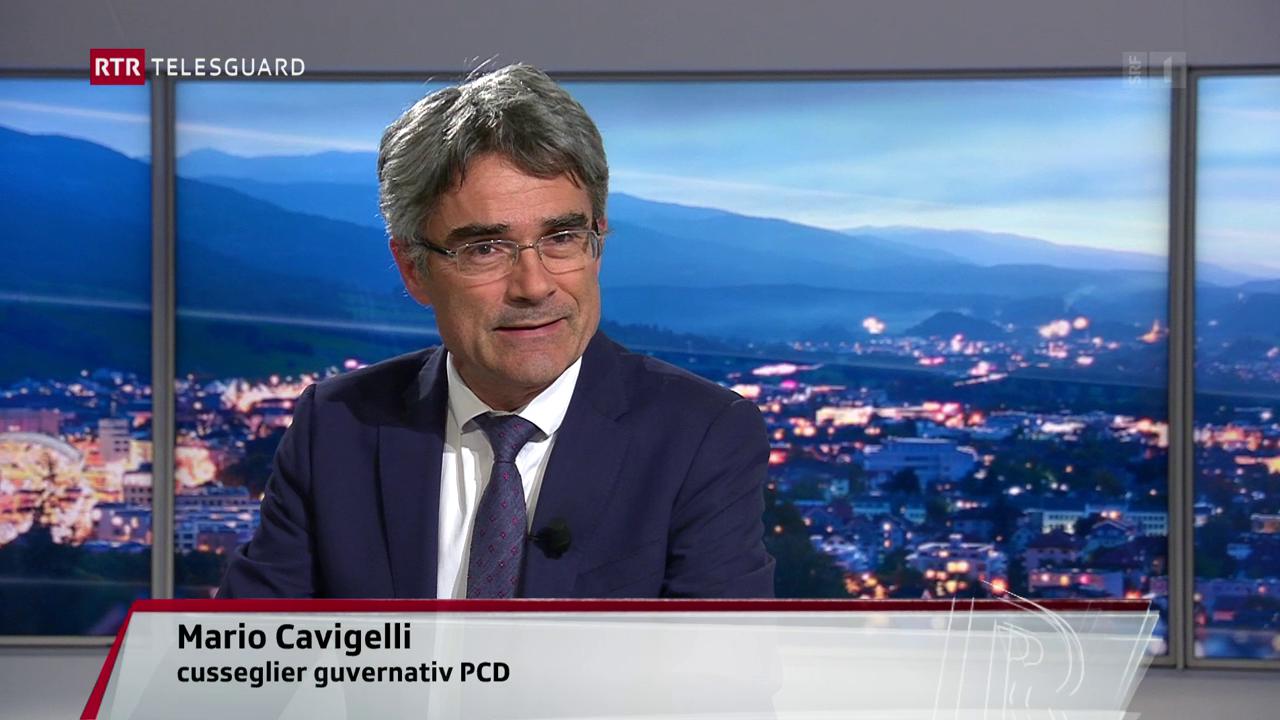 Discurs cun cusseglier guvernativ Mario Cavigelli davart la decisiun dal Tribunal federal