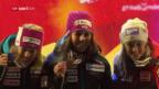 Video «Holdener und Gisin erhalten ihr Edelmetall» abspielen
