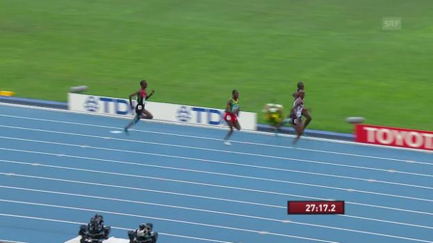 Video «Farahs WM-Gold über 10'000 m 2013 in Moskau» abspielen