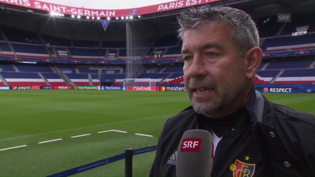 Video ««Arsenal und Paris kann man vergleichen»» abspielen