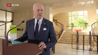 Video «Staffan de Mistura: Unermüdlicher Einsatz für den Frieden» abspielen