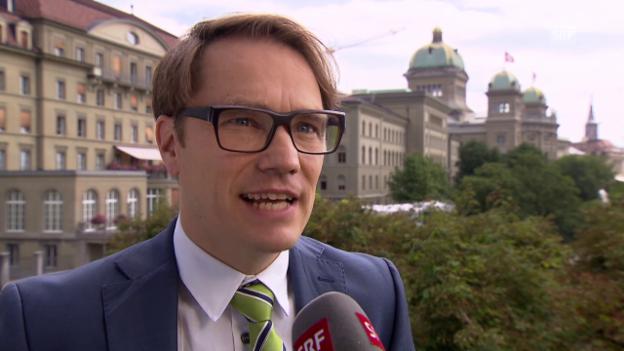 Video «Lukas Golder, Politologe» abspielen