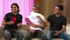 Video ««Ich, Du oder Er»: die drei Rodriguez-Brüder im Harmonie-Quiz» abspielen