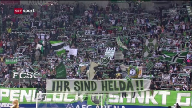 Video «Zusammenfassung St. Gallen - Luzern («sportpanorama»)» abspielen