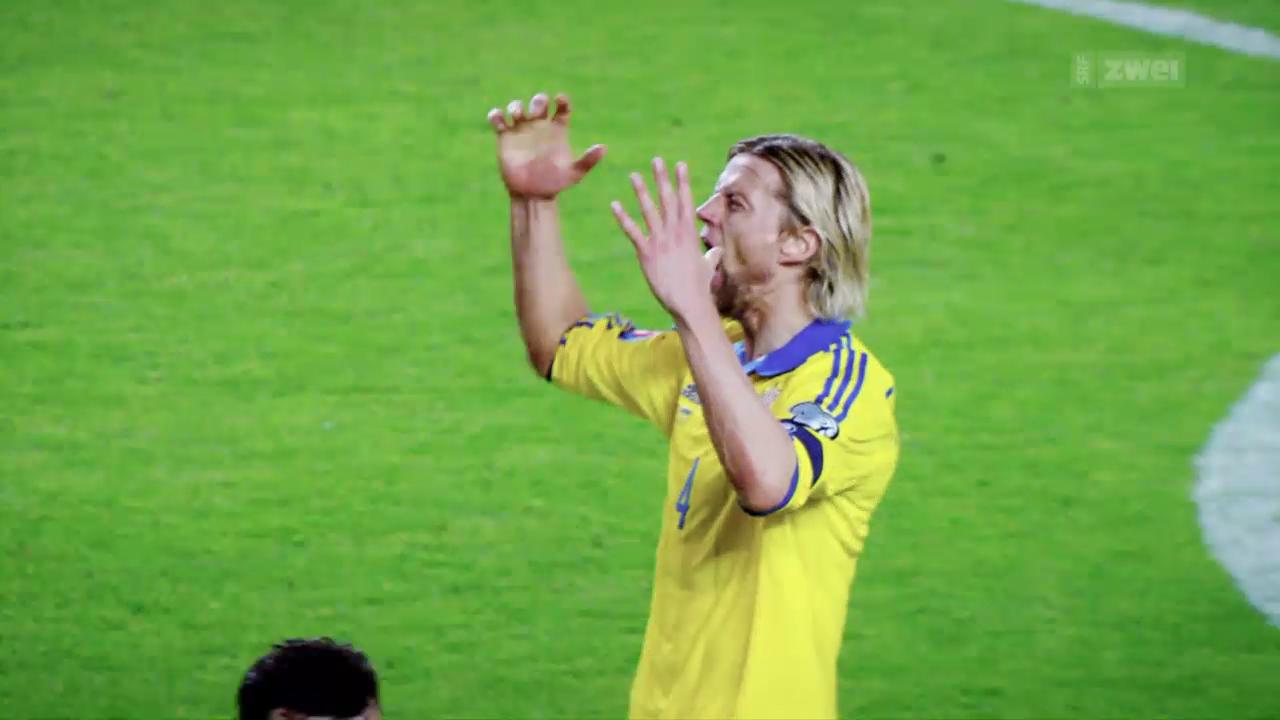 Die Ukraine vor der 2. EURO-Teilnahme