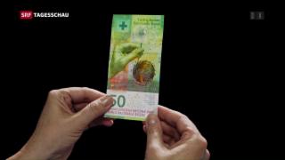 Video «Neue 50er Note in Umlauf» abspielen