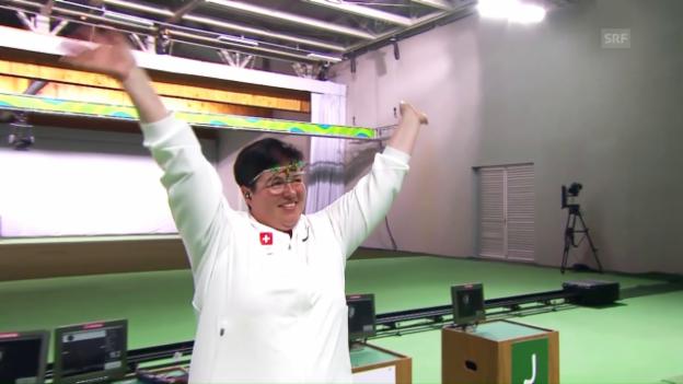 Video «Diethelm Gerber holt die Bronzemedaille» abspielen
