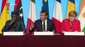 Video «Flüchtlingsgipfel in Frankreich» abspielen