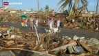 Video «Taifun: die Verzweiflung wächst, die Menschen hoffen auf Hilfe» abspielen