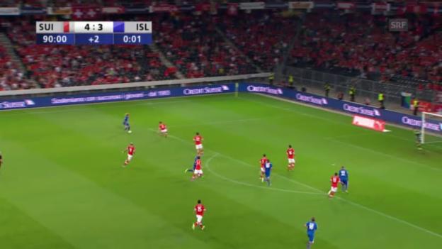Video «Highlights Schweiz-Island («sportlive»)» abspielen