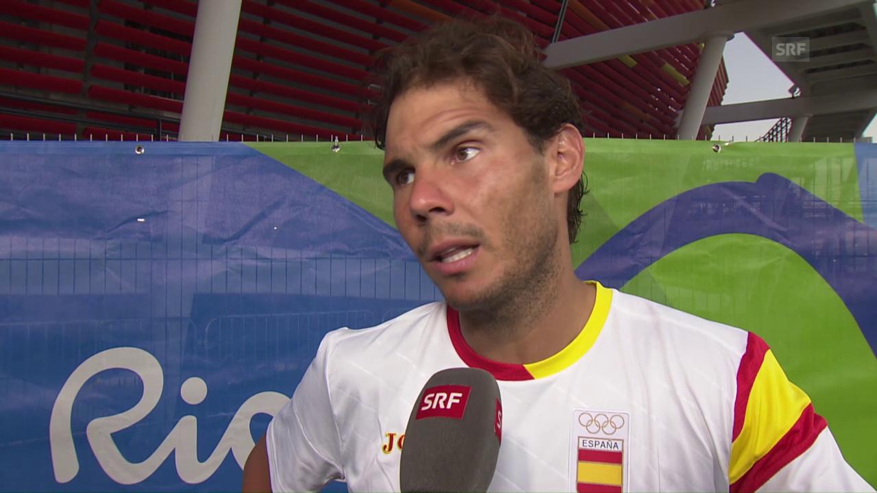 Nadal: «2 Punkte haben die Differenz gemacht» (engl.)