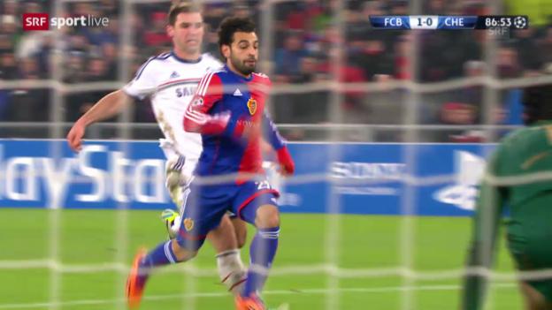 Video «Fussball: Salahs Tore gegen Chelsea» abspielen