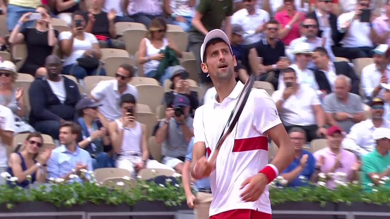 Djokovic steht in der 3. Runde