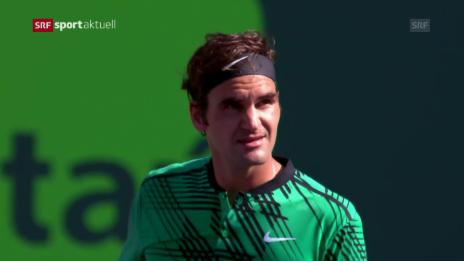 Link öffnet eine Lightbox. Video Federer lässt «Delpo» keine Chance abspielen