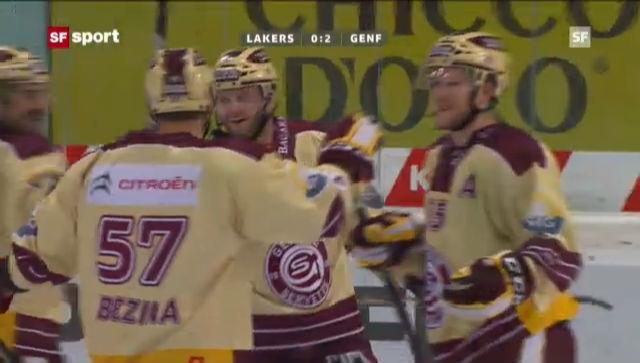 Eishockey: Lakers-Genf