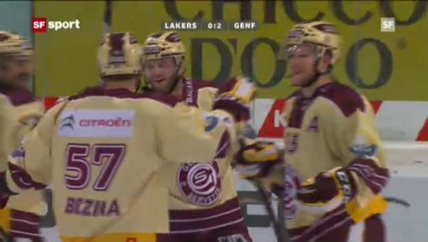 Video «Eishockey: Lakers-Genf» abspielen