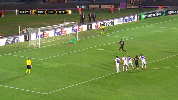Video «Osmanlispor bezwingt Bukarest» abspielen