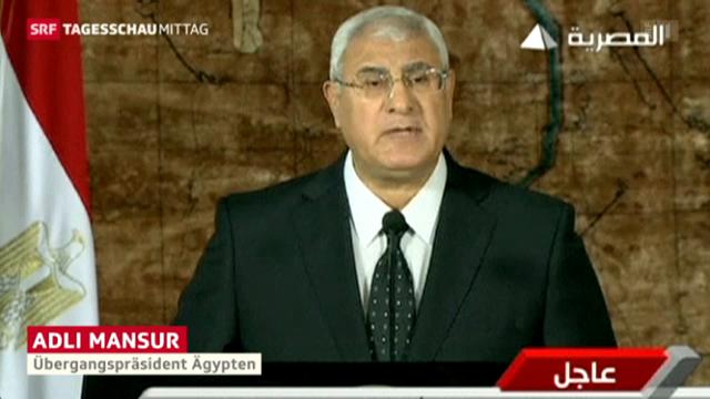Mansur spricht erstmals am Fernsehen