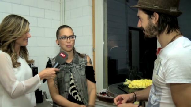 Video «Viola backstage im Gespräch mit den Coaches» abspielen