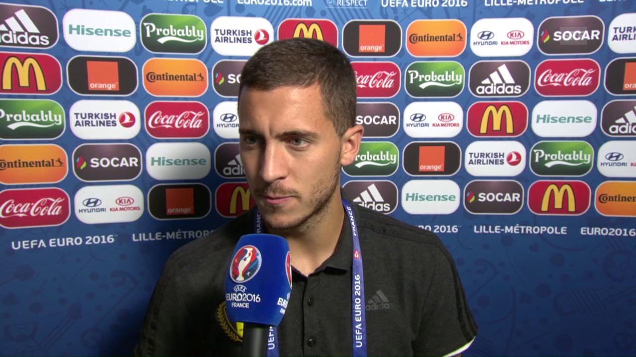 Eden Hazard über seine Fitness und seine Beziehung zu Lille (franz.)