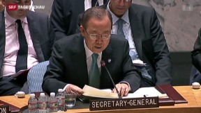 Video «UNO beruft Sondersitzung zu Nahostkonflikt ein» abspielen