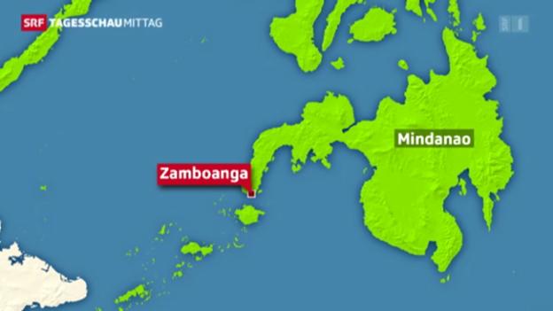 Video «Rebellen stürmen Stadt auf Philippinen» abspielen