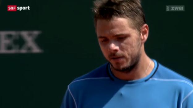Video «Tennis. Wawrinka - Murray» abspielen