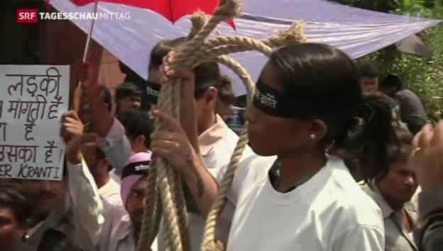 Video «Vergewaltiger in Indien verurteilt» abspielen