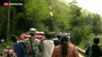 Video «China: Fast 200 Tote nach Beben» abspielen