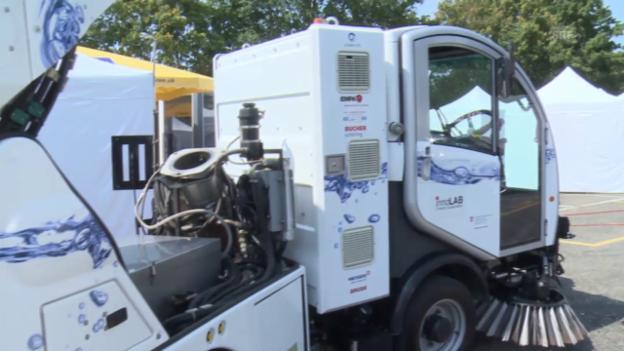 Video «Wasserstoffkehrfahrzeug» abspielen