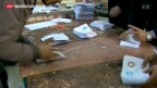 Video «Erster Wahlgang: Ja zu Mursis-Verfassungsentwurf» abspielen