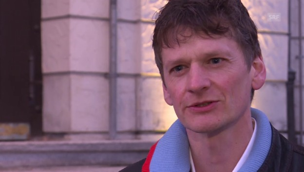 Video ««Slam Poet» Christoph Simon auf Mission Titelverteidigung» abspielen