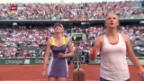 Video «Halbfinal Scharapowa - Asarenka («sportaktuell»)» abspielen