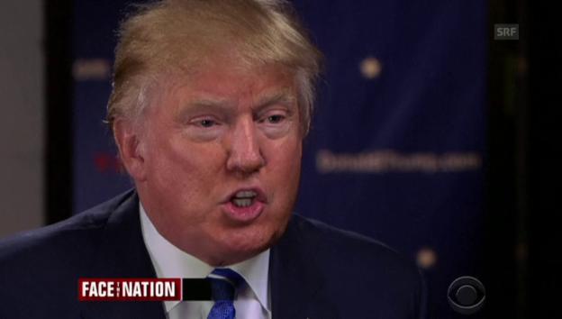 Video «Trumps Haltung gegenüber Muslimen (englisch)» abspielen