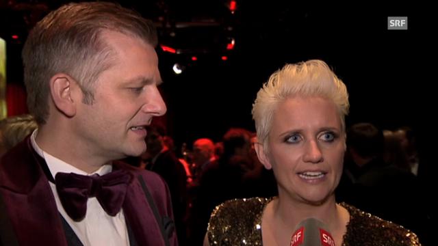 Steffi Buchli erleichtert nach Premiere bei den «Credit Suisse Sports Awards».