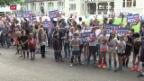 Video «Kantonsrat bewilligt Planungskredit für «Spange Nord»» abspielen