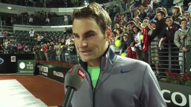 Video «Interview Roger Federer» abspielen