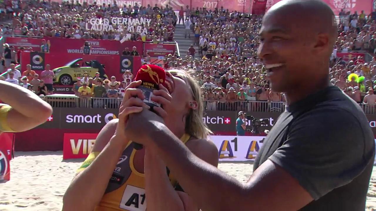 Ludwigs Gefühlsausbruch: «World Champion, yeeeaaah!»